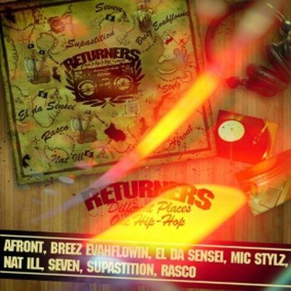 Returners - Different Places / One Hip Hop LP