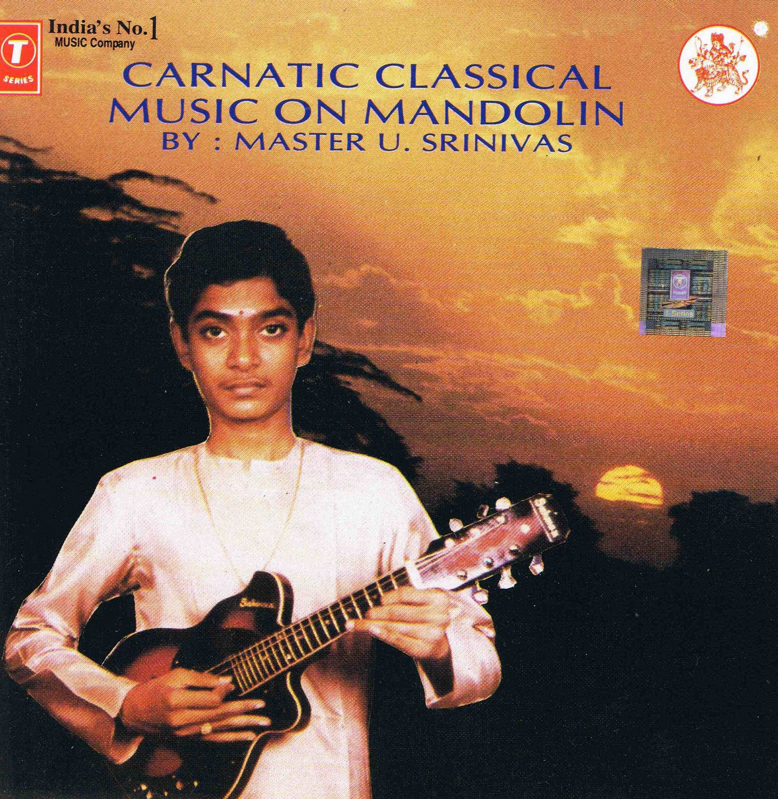 U. Srinivas - Carnatic Classical Music on Mandolin